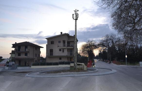 Le antenne e la chiesa