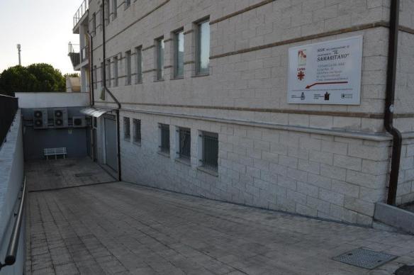 L'entrata della sede principale
