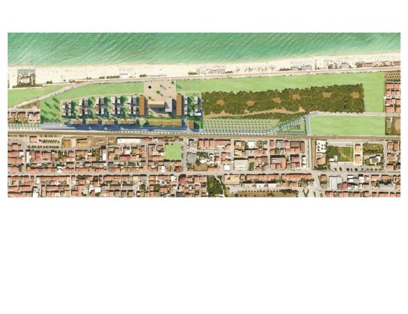 Un'immagine del progetto urbanistico