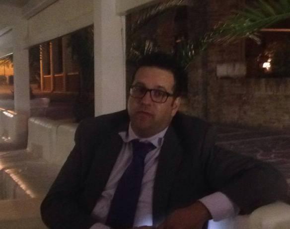 Il consigliere Andrea Balestrieri dopo l'occupazione del Consiglio Comunale