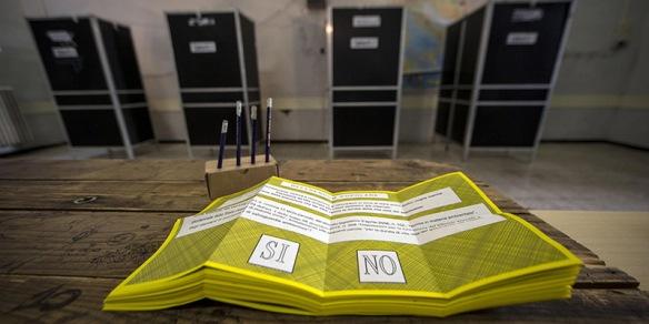 Referendum: Trivelle; aperti seggi elettorali, 47mln al voto